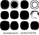 grunge post stamps collection ... | Shutterstock .eps vector #1232174278