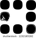 grunge post stamps collection ... | Shutterstock .eps vector #1232185282