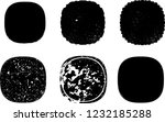 grunge post stamps collection ... | Shutterstock .eps vector #1232185288