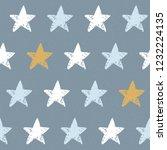 cute nordic seamless pattern... | Shutterstock .eps vector #1232224135