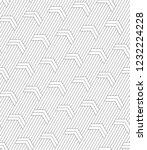 vector seamless texture. modern ... | Shutterstock .eps vector #1232224228