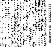 the texture of halftone black... | Shutterstock .eps vector #1232227585