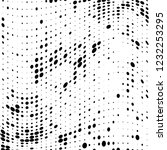 the texture of halftone black... | Shutterstock .eps vector #1232253295