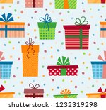 olorful gift boxes with...   Shutterstock .eps vector #1232319298