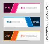 banner background. modern... | Shutterstock .eps vector #1232324938