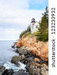 Bass Harbor Head Light And...