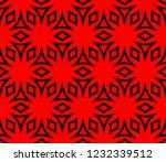 seamless modern vector... | Shutterstock .eps vector #1232339512