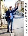 young business man allways work   Shutterstock . vector #1232339932