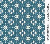 blue royal pattern. the... | Shutterstock .eps vector #1232340352