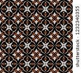 dark royal pattern. the... | Shutterstock .eps vector #1232340355