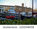 london  uk   march 2018  yachts ... | Shutterstock . vector #1232348458