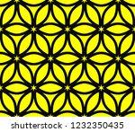 seamless modern vector... | Shutterstock .eps vector #1232350435
