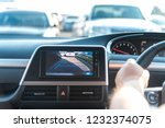rear view monitor for car...   Shutterstock . vector #1232374075