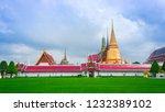 wat phar keaw is in bangkok. | Shutterstock . vector #1232389102
