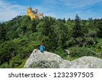 most colorful palace of europe... | Shutterstock . vector #1232397505