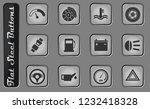 car interface vector web icons... | Shutterstock .eps vector #1232418328