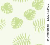 tropical seamless pattern with... | Shutterstock .eps vector #1232423422