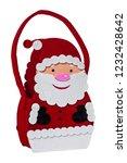 felt fabric santa claus... | Shutterstock . vector #1232428642