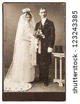 Vintage Wedding Photo. Just...