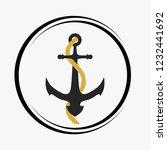 anchor icon illustration   Shutterstock .eps vector #1232441692