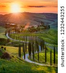 spring in tuscany  italy | Shutterstock . vector #1232443255