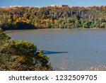 beautiful autumn landscape of... | Shutterstock . vector #1232509705