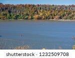 beautiful autumn landscape of... | Shutterstock . vector #1232509708