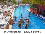 mexico  cancun   february 15 ... | Shutterstock . vector #1232514958