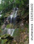 waterfall on the swabian alb | Shutterstock . vector #1232516632