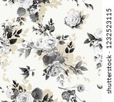 seamless floral background... | Shutterstock .eps vector #1232523115
