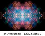 crossed lines create a stylish...   Shutterstock . vector #1232528512