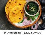 sarson ka saag and makki ki...   Shutterstock . vector #1232569408