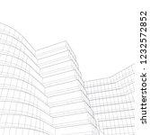modern architecture  building... | Shutterstock .eps vector #1232572852