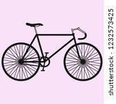 sport bicycle  race road bike... | Shutterstock .eps vector #1232573425