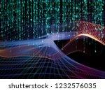 math universe series. abstract... | Shutterstock . vector #1232576035