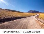 atacama desert  chile  andes ... | Shutterstock . vector #1232578405
