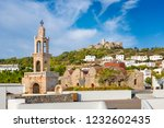 church of virgin mary and... | Shutterstock . vector #1232602435