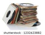 Pile Of Retro Vinyl 45rpm...