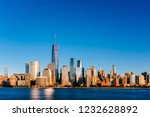 view of the skyline of downtown ... | Shutterstock . vector #1232628892