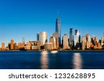 view of the skyline of downtown ... | Shutterstock . vector #1232628895