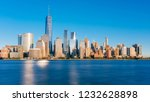 view of the skyline of downtown ... | Shutterstock . vector #1232628898