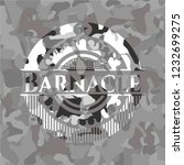 barnacle on grey camouflage... | Shutterstock .eps vector #1232699275