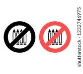 crayon ban  prohibition icon....