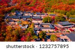aerial view of beomeosa temple... | Shutterstock . vector #1232757895