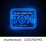 black friday sale banner in... | Shutterstock .eps vector #1232782942