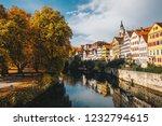 tuebingen in the stuttgart city ... | Shutterstock . vector #1232794615