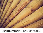 wooden background of a lot of... | Shutterstock . vector #1232844088