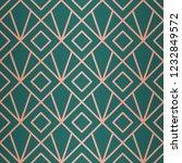 beautiful geometric pattern.... | Shutterstock .eps vector #1232849572