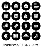 money icons  money cash icons...   Shutterstock .eps vector #1232910295