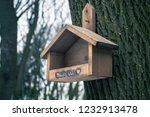 Birdhouse Hanging On The Tree